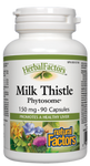 Natural Factors HerbalFactors Milk Thistle Phytosome 150mg Capsules | 068958048000