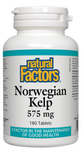 Natural Factors Norwegian Kelp 575mg Tablets | 068958025018