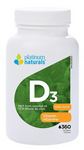 Platinum Naturals Vitamin D3 1000IU 360 Softgels | 773726031411