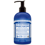 Dr. Bronner's 4-in-1 Sugar Peppermint Organic Pump Soap 355ml | 018787950029