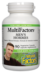 Natural Factors Men's MultiFactors Vegetarian Capsules | 068958015897