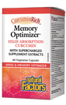 Natural Factors CurcuminR0ich Memory Optimizer High Absorption Curcumin   068958045535
