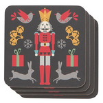 Now Designs Coasters Set of 4 Nutcracker | 064180260562