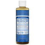 Dr. Bronner's Pure-Castile Liquid Soap Peppermint  237ml | 018787775080