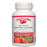 Natural Factors ApplePectinRich Super Strength Apple Pectin Concentrate 500mg Vegetarian Capsules