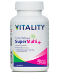 Vitality Time Release Super Multi+ Tablets - 30 Tablets | 062044230539