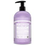 Dr. Bronner's 4-in-1 Sugar Lavender Organic Pump Soap 710ml   018787960011