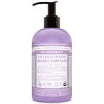 Dr. Bronner's 4-in-1 Sugar Lavender Organic Pump Soap 355 ml | 018787950012