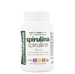 Prairie Naturals Organic Spirulina 500mg 180 Tablets | 067953004424