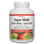 Natural Factors Super Multi Iron Free | 068958015095