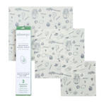 Abeego The Reusable Beeswax Food Wrap - 3 Variety Wraps | 813692001005
