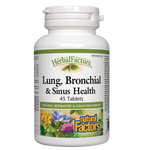 Natural Factors HerbalFactors Lung Bronchial and Sinus Health Tablets | 068958035048