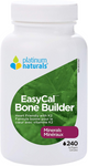 Platinum Naturals EasyCal Bone Builder - Heart Friendly with K2 240 Softgels | 773726030926