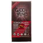Giddy YoYo Chai Spice 77% Certified Organic Dark Chocolate Bars  1 Bar | 838206000209