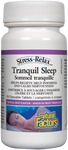 Natural Factors Stress-Relax Tranquil Sleep Tropical Fruit Flavour 12 x 10 Chewable Tablets |  068958028392