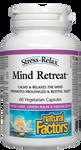 Natural Factors Stress-Relax Mind Retreat 60 Veg Capsules   068958028415