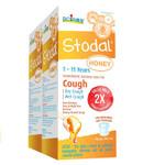 Boiron Children's Stodal Honey Syrup 2 x 125ml | 774016837591
