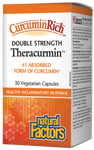 Natural Factors CurcuminRich Double Strength Theracurmin | 068958045436
