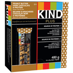 KKind Snacks Peanut Butter Dark Chocolate & Protein Bars 12 x 40g box | 602652171703
