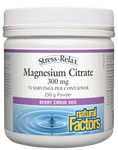 Natural Factors Magnesium Citrate 300mg Stress-Relax