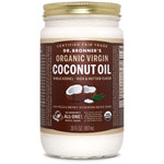 Dr. Bronner's Whole Kernel Organic Virgin Coconut Oil 887ml | 018787505038