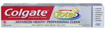 Colgate Total Advanced Health Professional Clean Toothpaste | 0058000007215