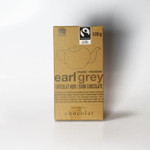 Galerie au Chocolat Organic Earl Grey Dark Chocolate Bar 100 Grams