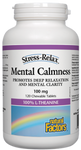 Natural Factors Mental Calmness 100mg Stress-Relax chews | 068958028378
