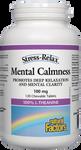 Natural Factors Stress-Relax Mental Calmness 100mg 120 Chewable Tablets | 068958028378
