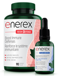 Enerex Reishi Defense 90 soft gels + Black Seed Oil 30ml | 628557160901
