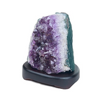 Ecoideas Gemstone Lamps Amethyst Cluster Table Lamp | 626570611189