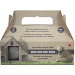 Moss Creek Wool Works Wool Dryer Balls in Grey   771590010037