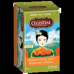 Celestial Seasonings Herbal Tea Mandarin Orange Spice   070734000317