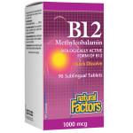 Natural Factors B12 Methylcobalamin 1000 mcg | 068958012421