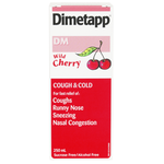 Dimetapp DM Extra Strength Cough and Cold Liquid Wild Cherry 250 ml | 0062107231305