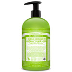 Dr. Bronner's 4-in-1 Sugar Lemongrass Lime Organic Pump Soap  710ml | 018787960059