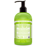 Dr. Bronner's 4-in-1 Sugar Lemongrass Lime Organic Pump Soap 355 ml | 018787950050
