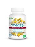 Genuine Health Omega3+ Triple Strength + D3 60 soft gels | 624777006135