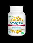 Genuine Health Omega3+ Triple Strength + D3 60 soft gels   624777006135