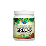 Natural Factors Whole Earth and Sea Fermented Organic Greens chocolate | 068958355245