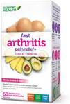 Genuine Health Fast Arthritis Pain Relief+ Clinical Strength 60 capsules | 624777005961
