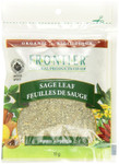 Frontier Natural Products Organic Sage Leaf Rubbed 11g | UPC: 089836210432