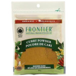 Frontier Natural Products Organic Curry Powder Seasoning Blend 30g | 089836210265