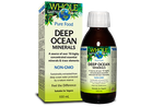 Natural Factors Whole Earth and Sea Deep Ocean Minerals 100mL Liquid | 068958355146
