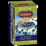 Celestial Seasonings Herbal Tea True Blueberry | 070734070754