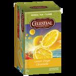 Celestial Seasonings Herbal Tea Lemon Zinger | 070734053177