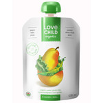 Love Child Organics Baby Food Pouch with Quinoa, Pears, Kale and Peas for 6 Months and Over | 0858860001053