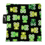 Colibri Reusable Snack Bag Frogs | 855562000377
