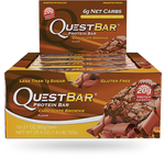 Quest Protein Bar Chocolate Brownie   888849002306