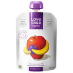 Love Child Organics Baby Food Pouch with Quinoa, Apples, Bananas and Blueberries for 6 Months and Over | 0858860001022